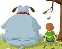 Dogopotamus Book Illustrations