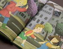 """Kinderbuch """"Pia, Alex und das Klimaprojekt"""""""