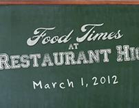 Restaurant High 2012