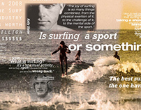 Groms Vs. Kooks : A Surfing Infographic