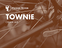 Pigeon River Townie Cream Ale Identity