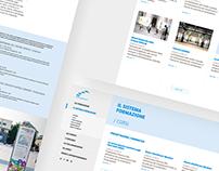 Fondazione per l'architettura / Torino website