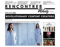 Tabloid Design: Rencontrer Weekly