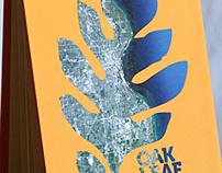 Oak Leaf Trail Accordion Book