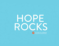 Hope Rocks Silk Screen Poster