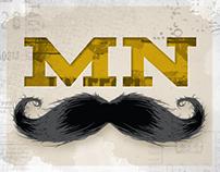 2012 Movember Illustrations