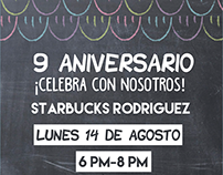 Invitación Starbucks