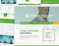 Reinventing The Impact Nation Conference Website
