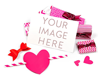 Romantic Mockup,To be used for postcards&invitations