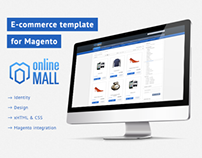 Online Mall - Magento Template