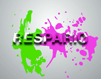 splash motion graphic