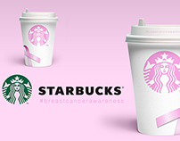 STARBUCKS - Breast Cancer Awareness Packaging Design