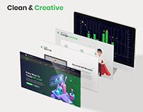 SeedCoin - Branding & Web UI Design