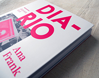 Diseño de portada —Diario de Ana Frank