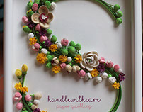 "Quilling Letter ""S"""