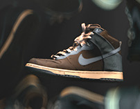 Nike high top 3d Scan