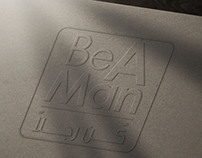 BE A MAN - FILM POSTER