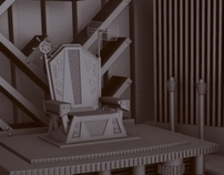 Throne of an Industrial Monarch - Modelled Environment