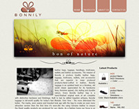 Bonnily website dynamic Html version