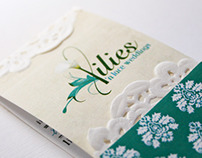 Lilies 'n Lace Business Cards