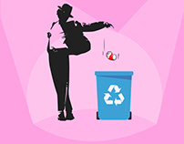 Illustration for waste recycling
