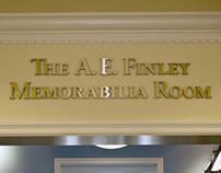 The A.E. Finley Memorabilia Room