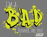 Autism Speaks B.A.D Race shirts