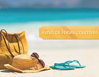 Banner de Férias Coletivas - Smartcopy