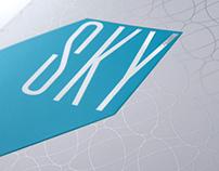 SKY. Restaurant identity.