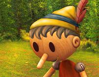 Pinocho - Digital Illustration