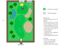 Little Bits IoT Golf Course Diorama Demo