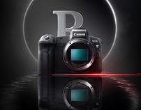 Canon EOS R Advertisement - Photoshop Composite