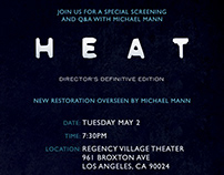 HEAT Screening Email Invitation