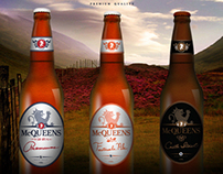 McQUEENS - Beer Labels
