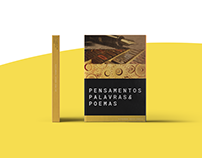 Pensamentos, Palavras & Poemas - Cover Design