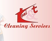 Flyer for a cleaning services company