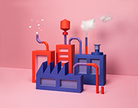Paper Visualization: Industrial Escape