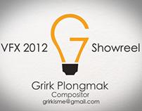 VFX Showreel 2012