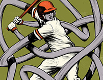 PEARL JAM - Wrigley Field Chicago Gig Poster