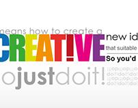 Design Typographic