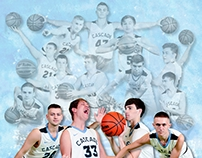 Cascade Boys Basketball Schedule Poster
