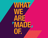 DMA Exhibition 2016 'What We Are Made Of'