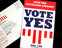 Vote Yes Library Millage Postcard