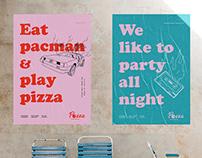 POZZA // Funky pizza bar