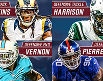 NY Giants 2016 Free Agency Graphics