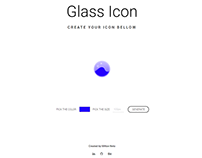 Glass UI Code Generator - (ReactJS and AdobeXD)
