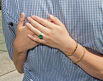 Cartier Emerald Engagement Ring