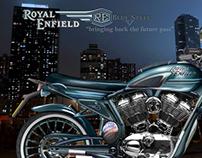 """Royal Enfield """"Blue V Steel"""""""
