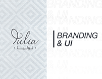 Tulia Branding & UI