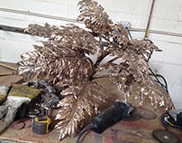 Custom Bronze Acanthus Plants